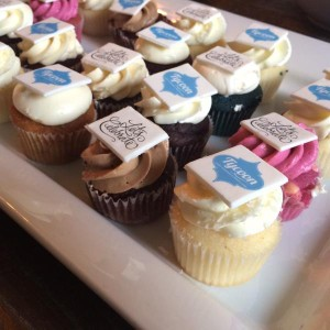 Assorted mini cupcakes (including gluten-free options) by 'Cakes by Candace'