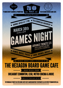"""""""A Games Night Out"""" with Tycoon Events & The Hexagon Board Game Cafe"""