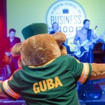 U of A mascot, GUBA, dancing the night away!