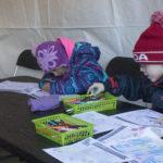 Children's Activity Area Coloring Contest Tent