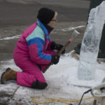 Ice Carving Demo