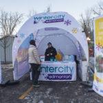 Winter City Tent