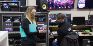 AV company behind-the-scenes